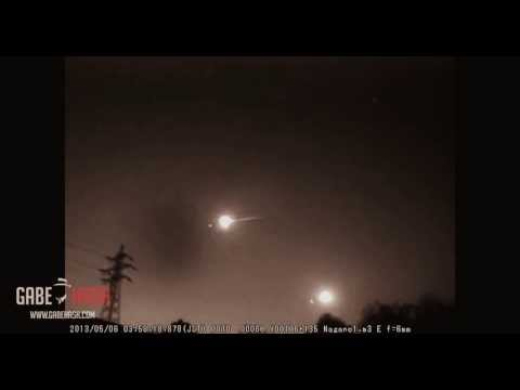 METEOR LIGHT UP THE SKY OF JAPAN MAY 8, 2013