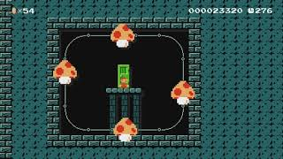 Dry Bones' Warehouse of Mystery by Juan Pablo - Super Mario Maker - No Commentary