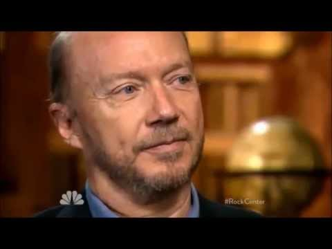 Paul Haggis talks about his leaving Scientology  'Rock Center' with Brian Williams