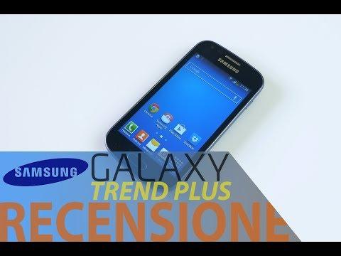 Samsung Galaxy Trend Plus. recensione in italiano