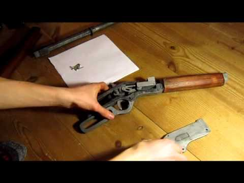 finishing the winchester wooden rifle