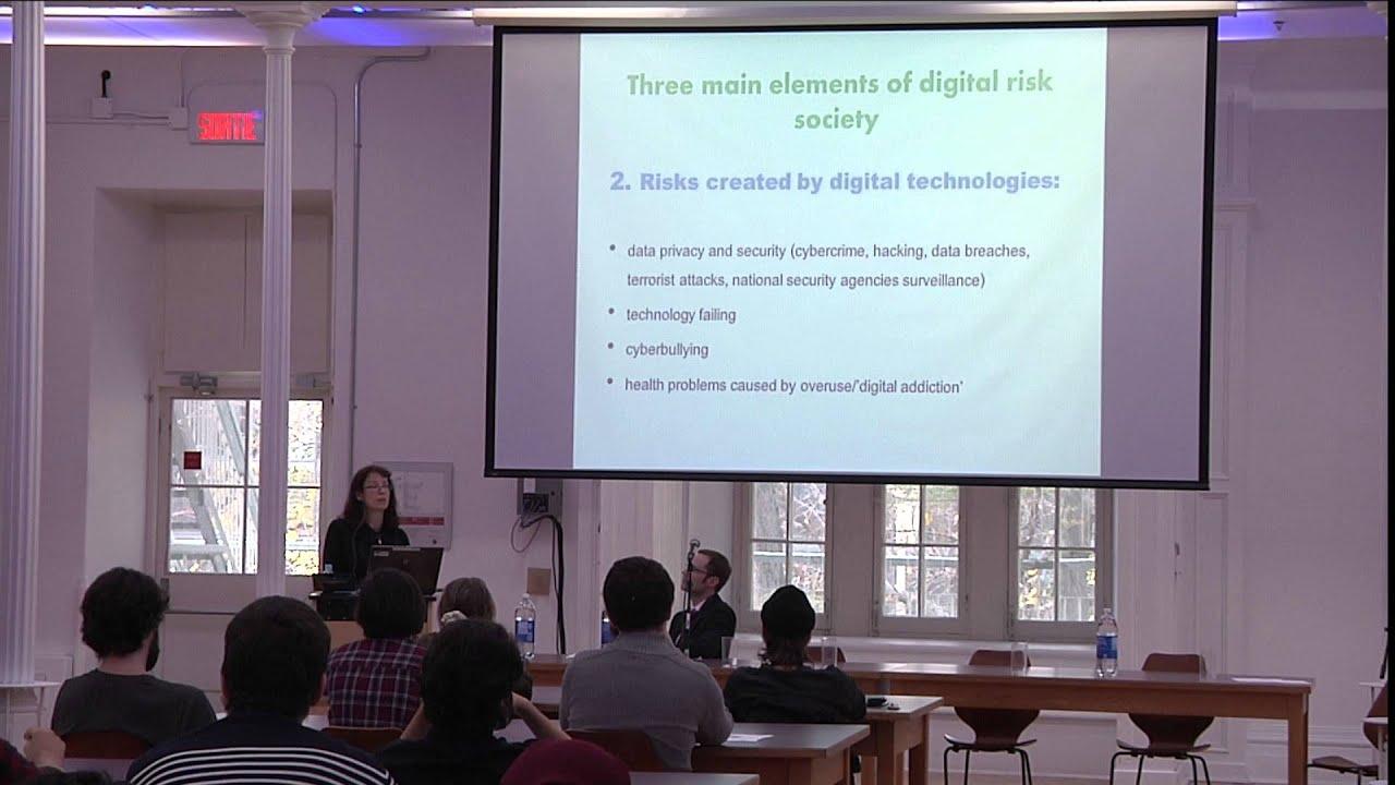 Dr. Deborah Lupton - Keynote Address - Nov. 6 2015