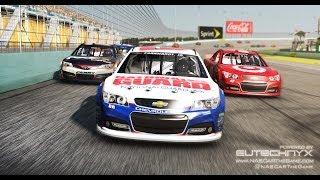 320 km/h NASCAR race