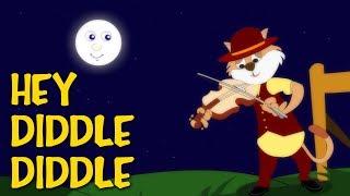 Hey Diddle Diddle Poem | Best English Kids Songs | Nursery Rhymes Songs || Kids Poem world