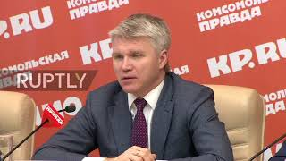 Russia: 'I wouldn't call it provocation' – Russian sports minister on doping incident
