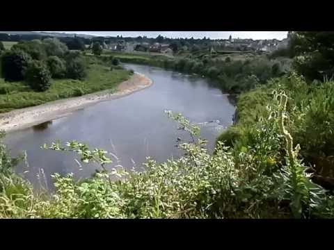 The River Tweed at Coldstream and Robert Burns