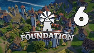 HERBS AND HONEY! -  Foundation - Medieval City Builder - Jamestown Episode 6