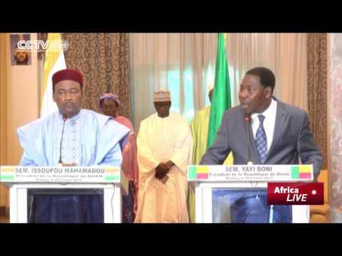 Presidents of Benin & Togo Visit Niger as Country Battles Boko Haram