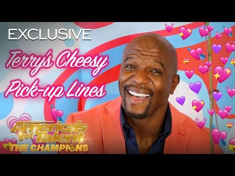 Terry Crews Gives The BEST Pick-up Lines For Valentine's Day - America's Got Talent: The Champions