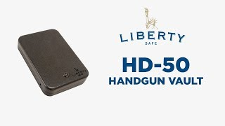HD-50 - Liberty Safe Handgun Vault