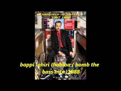 Bappi Lahiri ( Habiba  Bomb The Bass Mix 1988 video