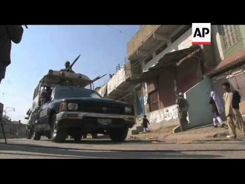 Crackdown on violence in restive Karachi neighbourhood