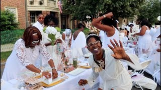 Diner en Blanc: Perfect Meal & Easy Table Set Up