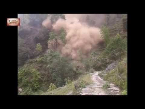Earthquake in Nepal 2015 Live capture by camera