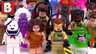 Every LEGO Ghostbusters Minifigure Ever Made!!! Collection Review