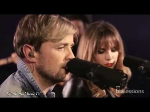 Kian Egan & Jodi Albert - Biz Session / Live Performance 'I Run To You'