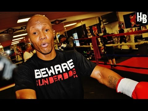 Zab Judah discusses sparring with Chris Algieri ahead of big Manny Pacquiao fight