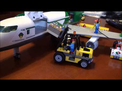 Lego City 60022 Terminal Cargo plane