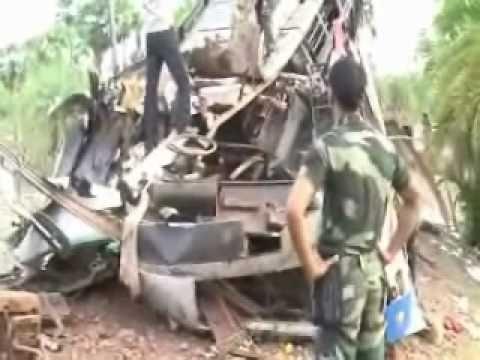 Maoists blow up bus in Dantewada, 40 killed