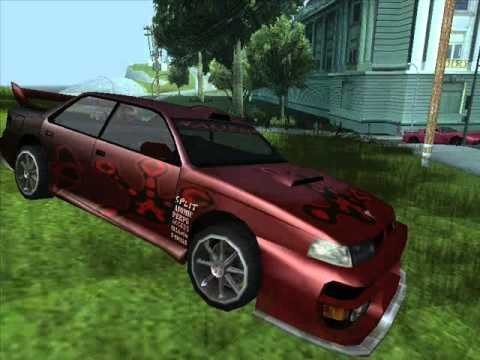 carros tunado do gta sa