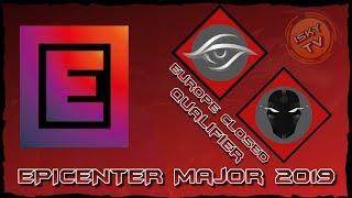 Team Secret vs TFT / Bo3 / EPICENTER Major 2019 Europe Closed Qualifier / Dota 2 Live