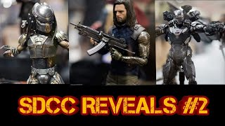 SDCC Hot Toys Reveal 2 ( Suri / black Panther Throne / Predator )