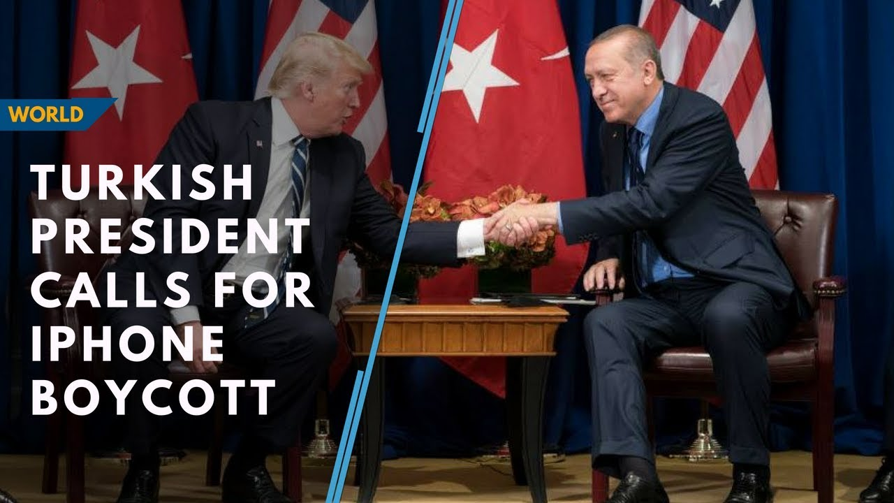 Turkish President calls for iPhone boycott