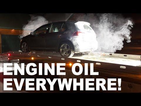 Major Oil Leak and How I Fixed It! - MK6 Volkswagen Golf R