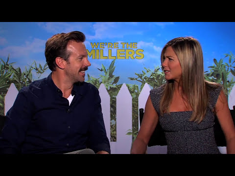 WE'RE THE MILLERS Interviews: Jennifer Aniston, Jason Sudeikis, Emma Roberts and Will Poulter