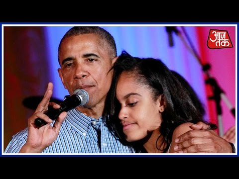 Obama Sings 'Happy Birthday' For Daughter Malia During Party At White House