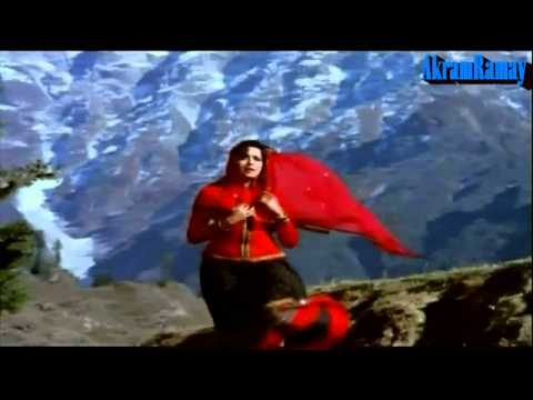 Parbat Ke Peeche - Lata & Kishore - Mehbooba (1976) - Hd video