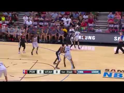 For 50% off boingVERT's jumping video series, CLICK: http://bit.ly/1lmyBRr Coach Nick broke down the different sets the Jazz ran in the Summer League, under the watchful eye of Quin Snyder....