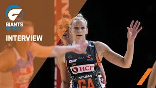 GIANTS Netball / Jo Harten Looks back at 2018 Season