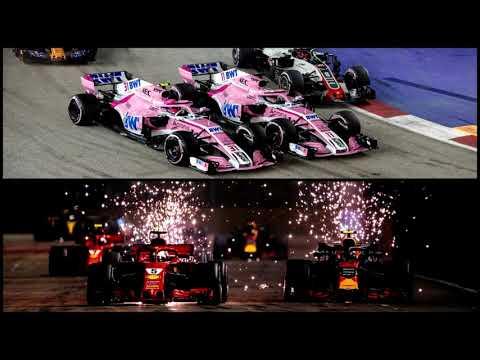 Перес сошел с ума, Сироткин - жертва беспредела (Гран-При Сингапура 2018 Формула-1)