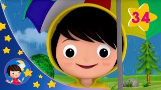 I Hear Thunder | Kids songs | Nursery Rhymes |  Little Baby Bum | Sleep Baby Little Baby Bum