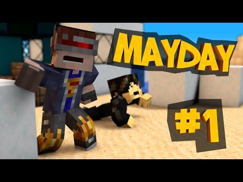 Minecraft MAYDAY Part 1: Crash Landing