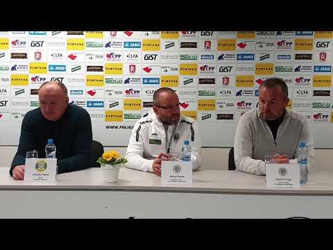 Tisková konference FC Hradec Králové - FK Baník Sokolov 2:0