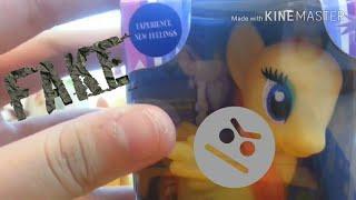 Toy Reviews #4 FAKE AJ!! | Fake pony review