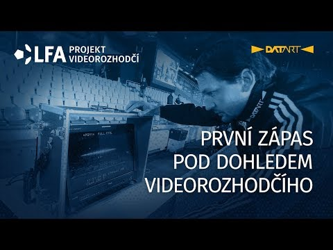 Premiéra videorozhodčího při utkání Sparta-Mladá Boleslav