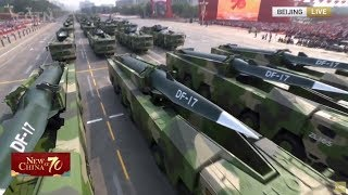 DF 17, DF 100 & DF 41 make debuts at National Day parade