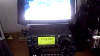 Qso tra IR0ISS LUCA ed IW2ODP 07/08/2013