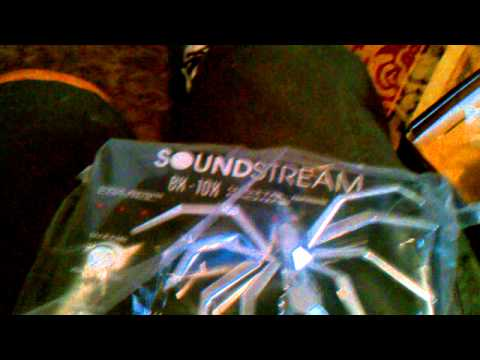New soundstream bx-10x unboxing