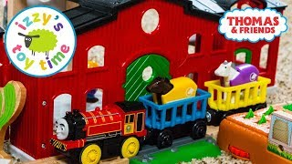 Toys for Kids   Thomas and Friends HORSE STABLE with BRIO! Toy Trains for Kids   Videos for Children