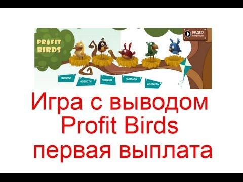 Игра с выводом Profit Birds - первая выплата