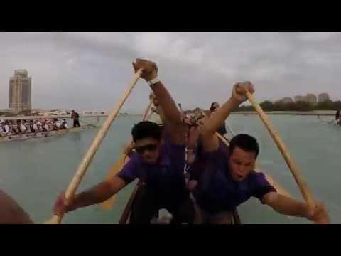 Qatar's 1st Dragon Boat Race Festival - CH