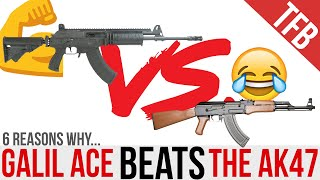 6 Reasons Why the Galil ACE is Better than the AK-47 & AKM