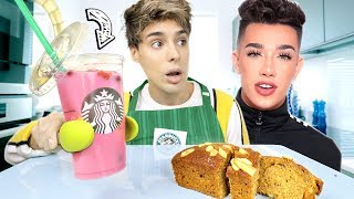 so i ate like JAMES CHARLES for 24 hours...