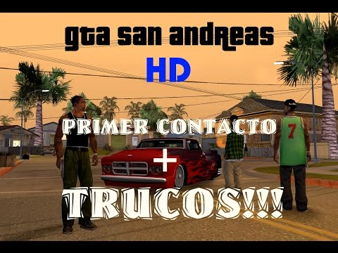 GTA San Andreas HD XBOX 360 - Analisis. Review & Gameplay - Primer Contacto + TRUCOS!