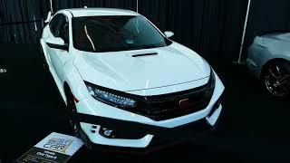 2018 Honda Civic Type R - Motor Trend Best Driver's Car - OC Auto Show, Anaheim CA