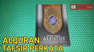 Review Alquran Al Fatih Terjemah Perkata